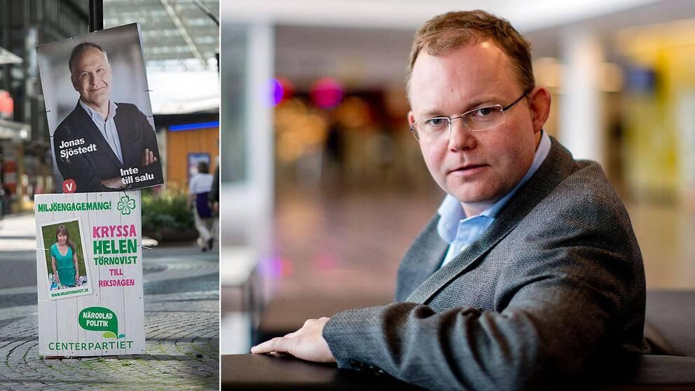 Henrik Ekengren Oscarsson, professor i statsvetenskap vid Göteborgs universitet