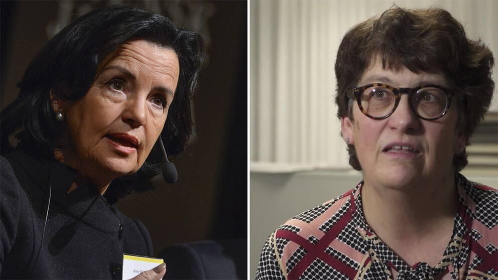 Anne Ramberg och Helle Klein.