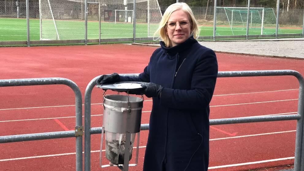Karin Ernlund (C), idrottsborgarråd