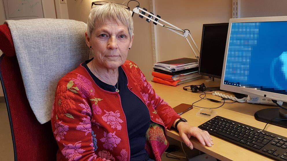 Eva Nordin-Olson, verksamhetschef Mora vårdcentral.