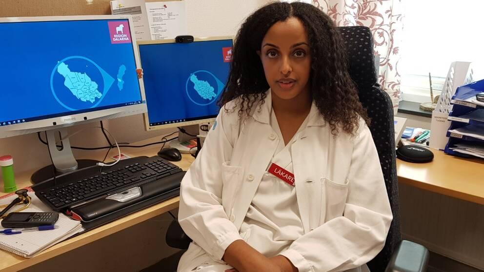 ST-läkaren Hana Awil på Mora vårdcentral
