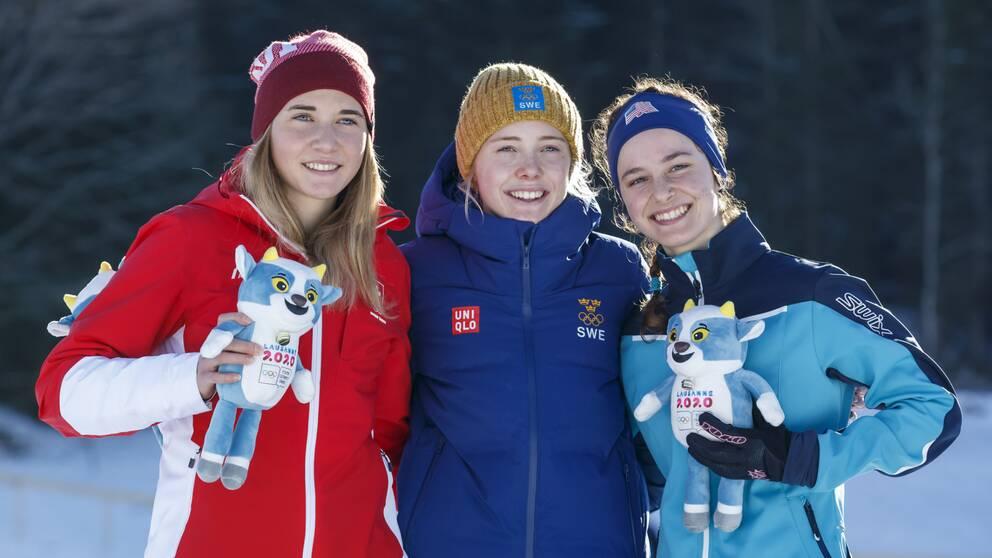 """Märta Rosenbergs guldåk i ungdoms-OS: """"Ett framtidsnamn"""""""