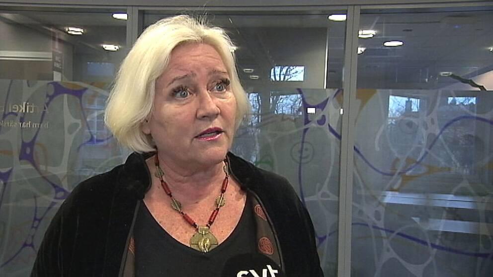 Barnombudsman Elisabeth Dahlin.