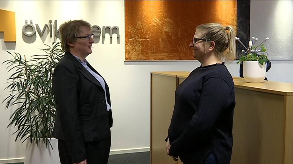 Maria Flodin, kundcenterchef på Övikshem