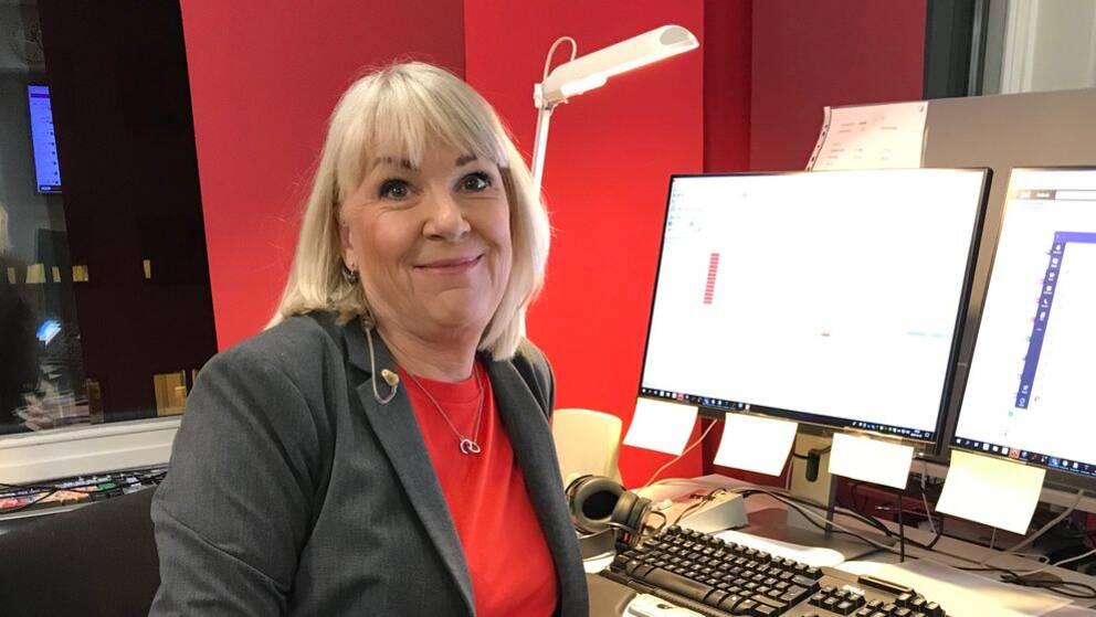 Karin Mannberg programledare för nyheterna i Värmland och Örebro