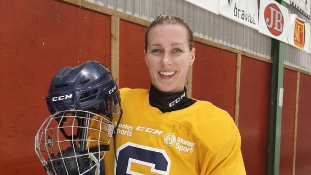 Danijela Rundqvist, 35, efter en träning med SSK.