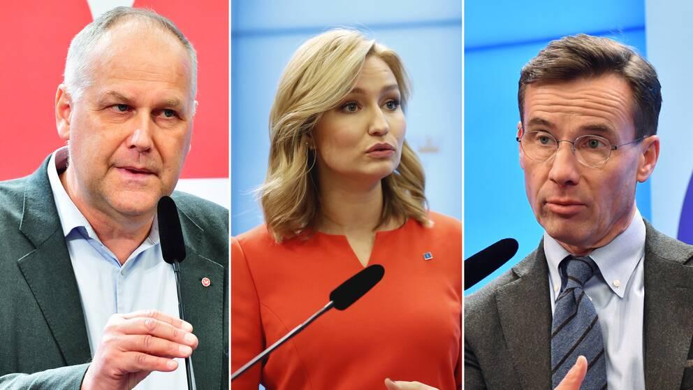 Moderaterna, Kristdemokraterna och Vänsterpartiet har kommit överens om att agera tillsammans för att ändra reglerna om arbetskraftsinvandring
