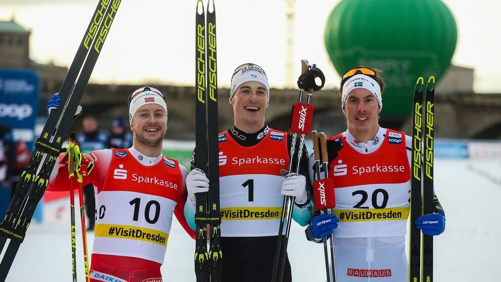Johan Häggström på en tredjeplats