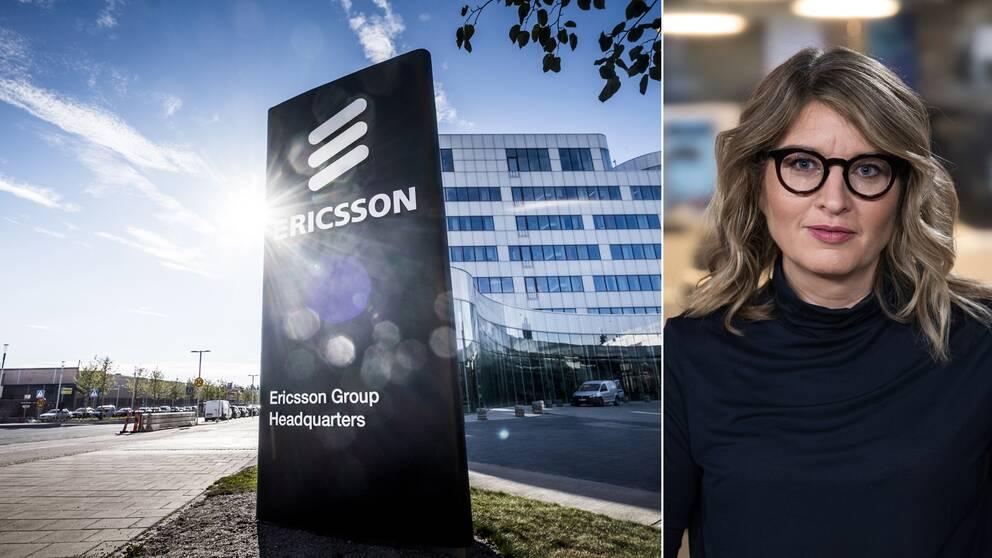 SVT Nyheters reporter Johanna Cervenka reder ut varför Ericsson går kräftgång på aktiemarknaden