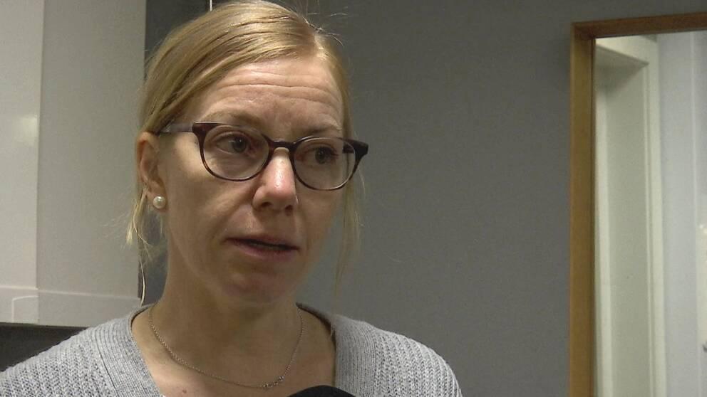 Outi Krekula, verksamhetsutvecklare för Rädda Barnen Nord.