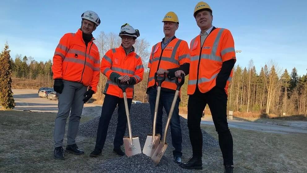 Ny idrottshallsbygge i Sundsvall.