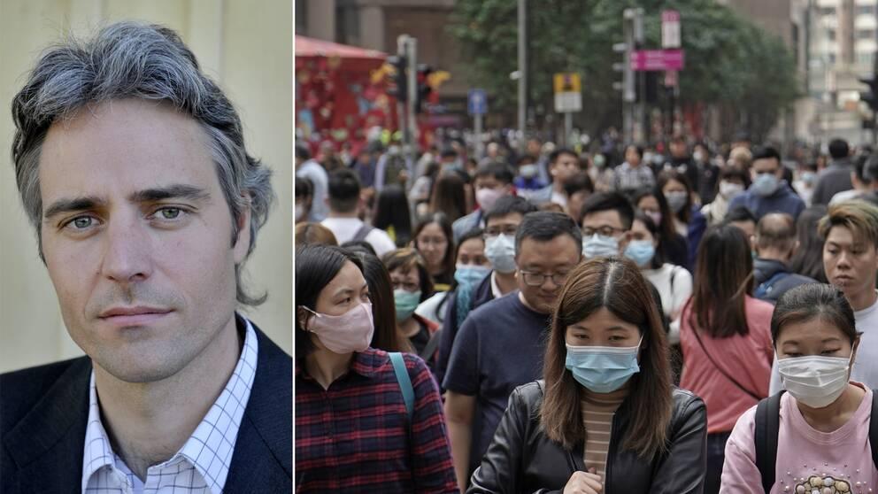 Vice Statsepedemiolog Anders Wallensten svarar på frågor om coronavirusutbrottet i Wuhan