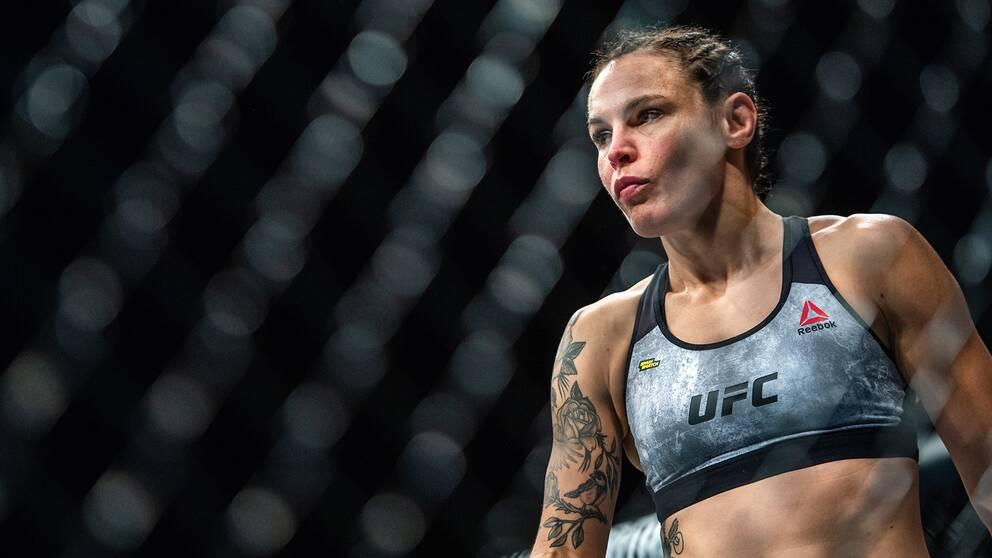 Lina Länsberg jagar sin tredje raka seger i UFC-oktagonen.