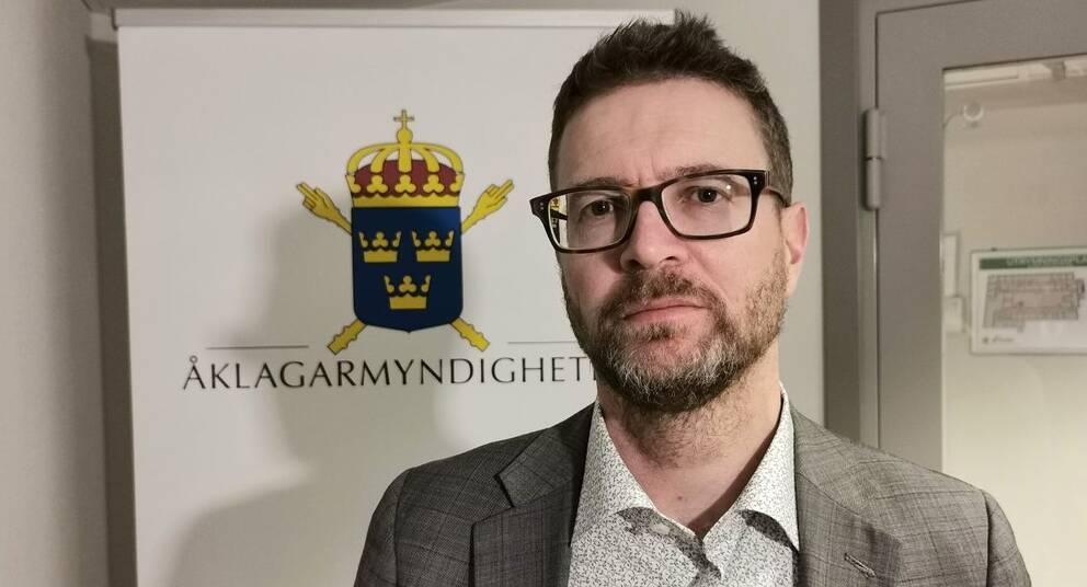 Chefsåklagare Daniel Brodén.
