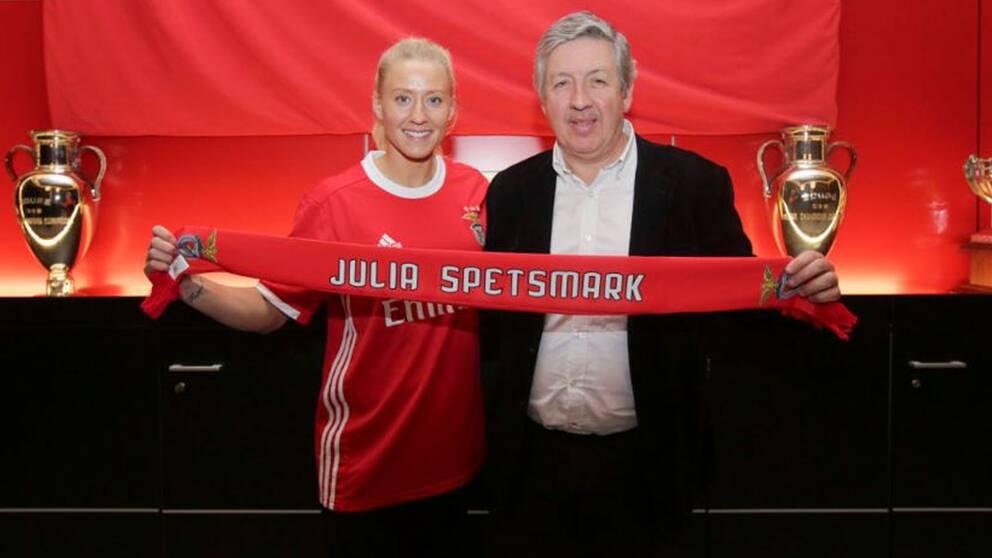 Julia Spetsmark är klar för storklubben Benfica.