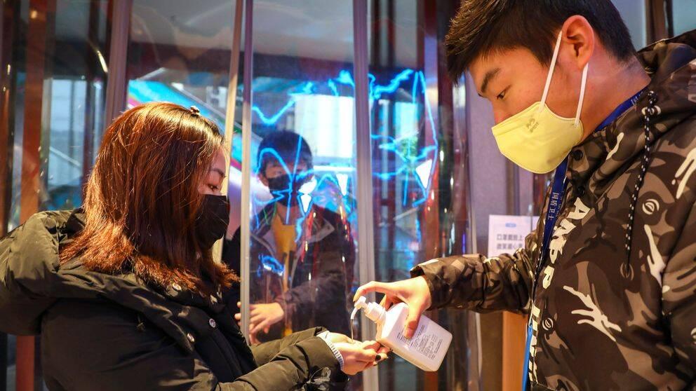 Coronaviruset har sitt ursprung i Wuhan, i centrala Kina.