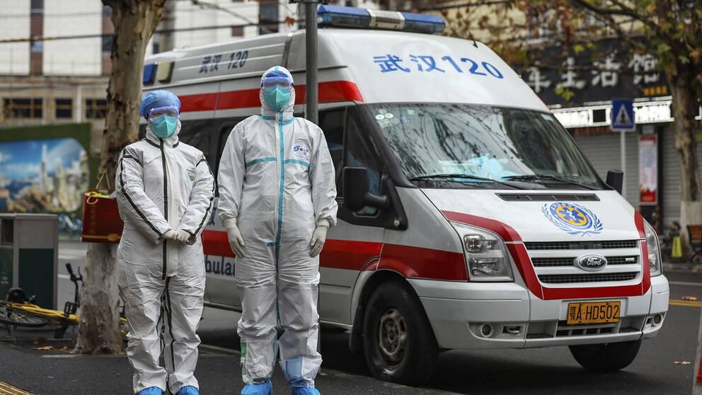 Kina förlänger ledigheten för det kinesiska nyåret med anledning av virusutbrottet i landet