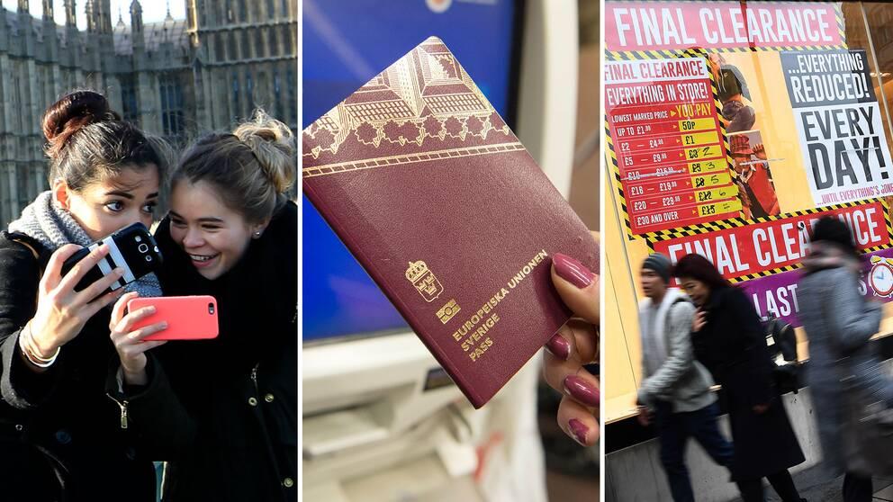 London är av de populäraste resemålen för svenskar