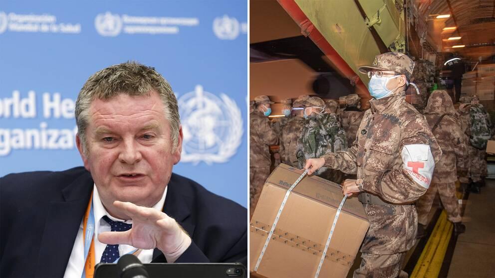 Michael Ryan, chef för WHO:s program för hälsonödlägen, har meddelat att den särskilda kommittén ska träffas igen på torsdagen.