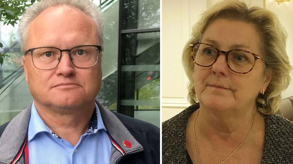 Glenn Nordlund och Lena Asplund