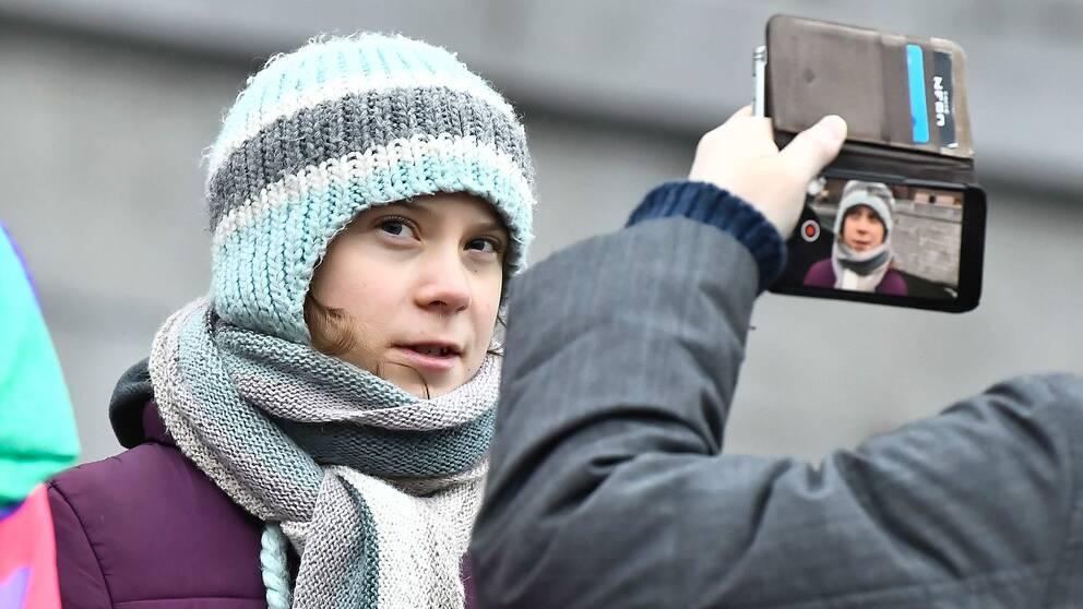 Greta Thunberg vill sätta stopp för de som utnyttjar hennes namn utan tillstånd.