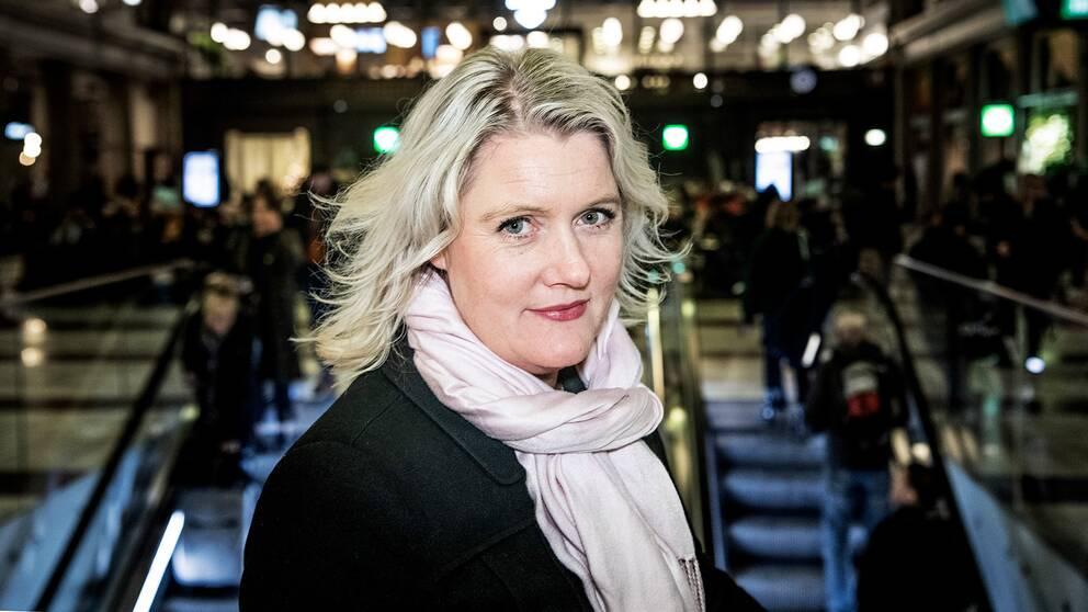 Lena Rådström Baastad på Centralstation