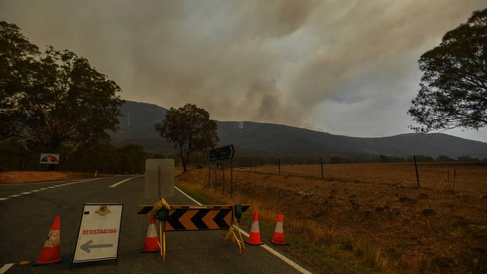 Nödläge utlyst i Canberra