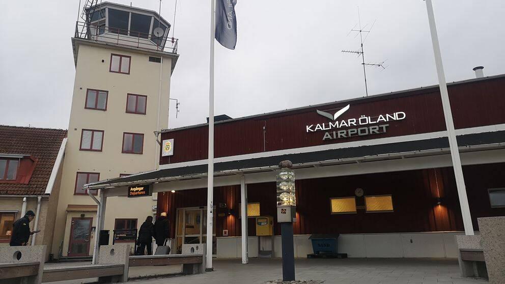 Kalmar Öland airport, flygplatsen i Kalmar, exteriör