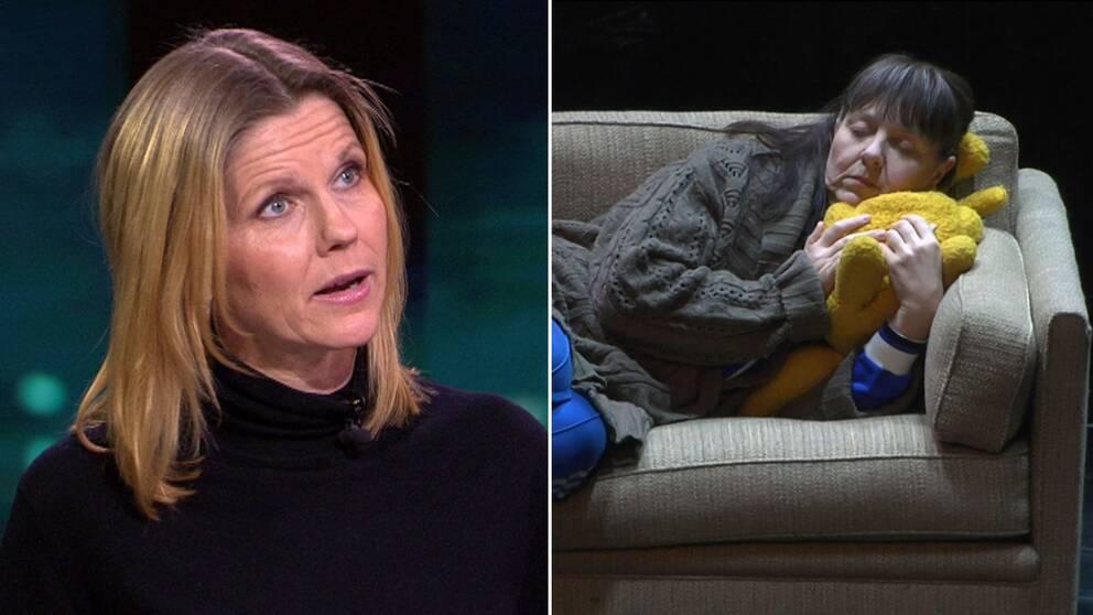 Kulturnyheternas teaterkritiker Anna Hedelius har sett Söndag på Borås stadsteater.