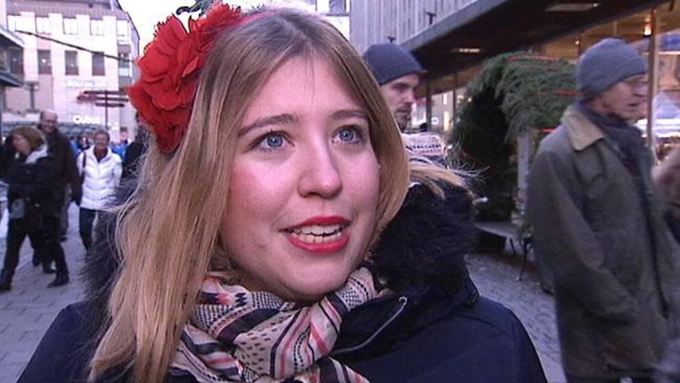 SSU:s orförande Ellinor Eriksson