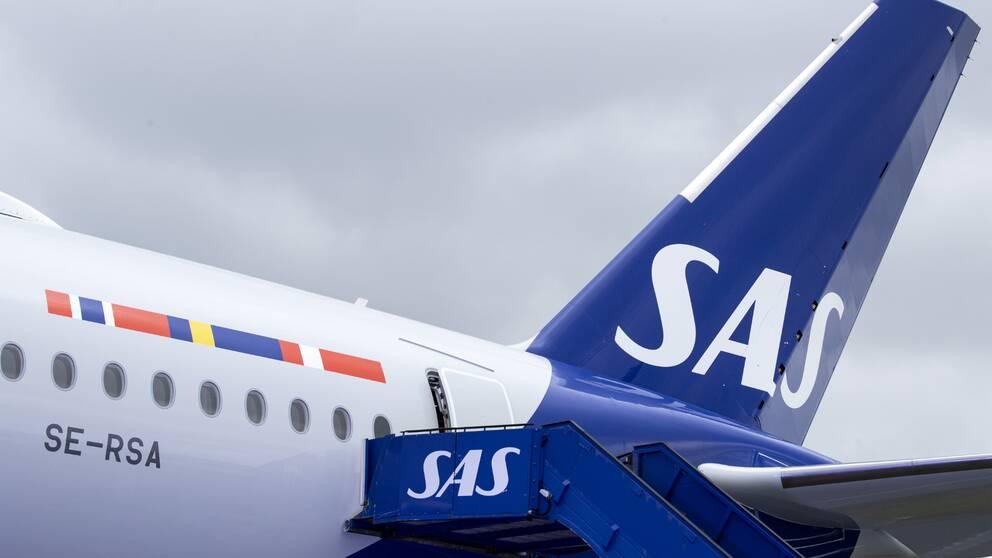 Fortsatt stopp för SAS-flyg till Kina