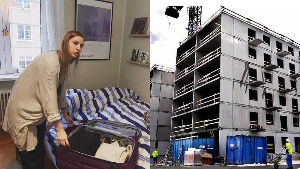 Nybyggda bostäder är för få och för dyra för många som vill in på bostadsmarknaden. Julia Snöljus är en av dem.