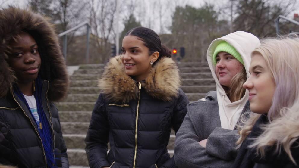 Ungdomar tycker till om gangsterrap i SVT:s Veckans brott.