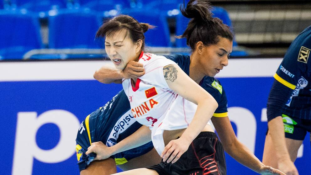 Kina mötte Sverige under VM i Japan.