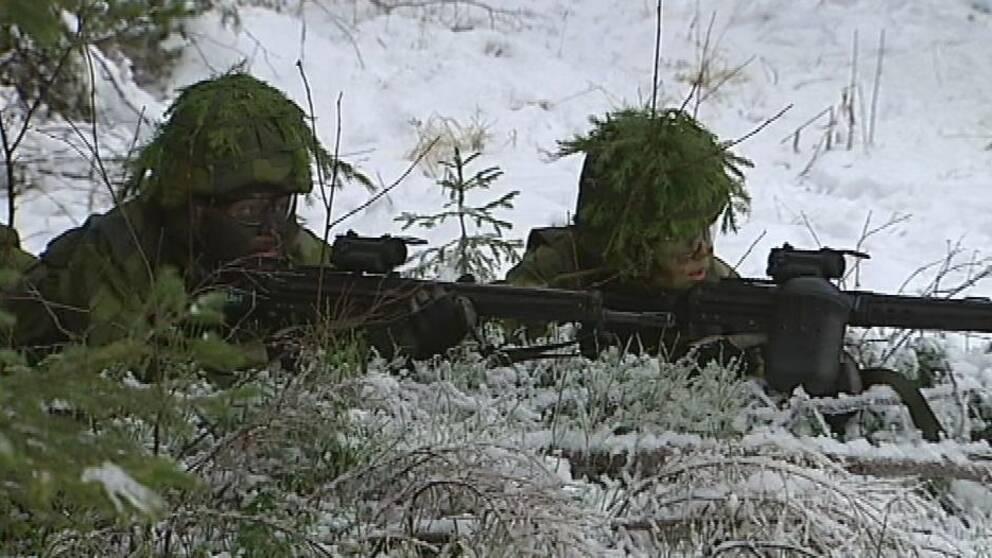 Stor militärövning planeras i länet.