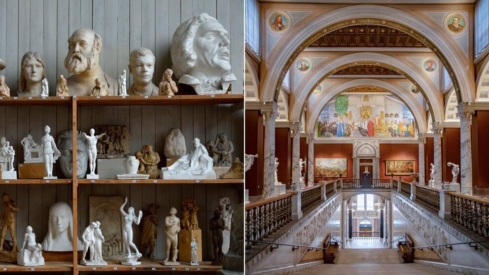 Ansträngd ekonomi på många av landets museer.