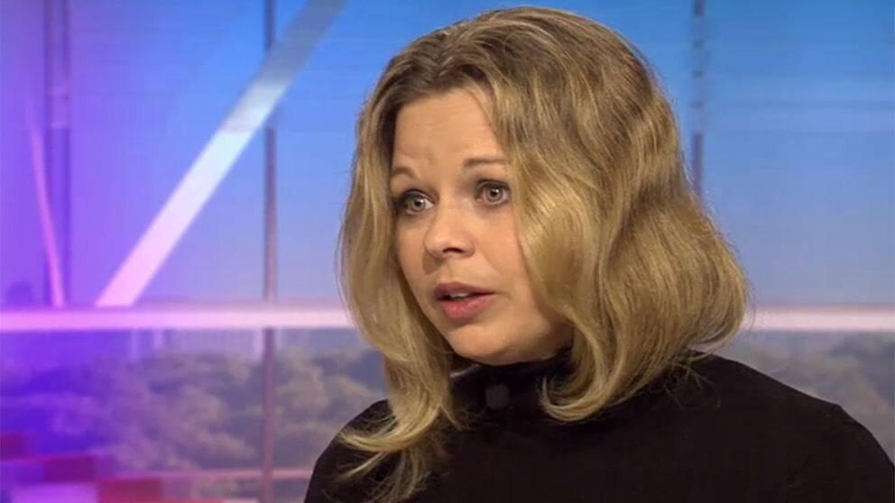 Karin Svensson, ordförande för Roks, riksorganisationen för kvinnojourer och tjejjourer i Sverige.