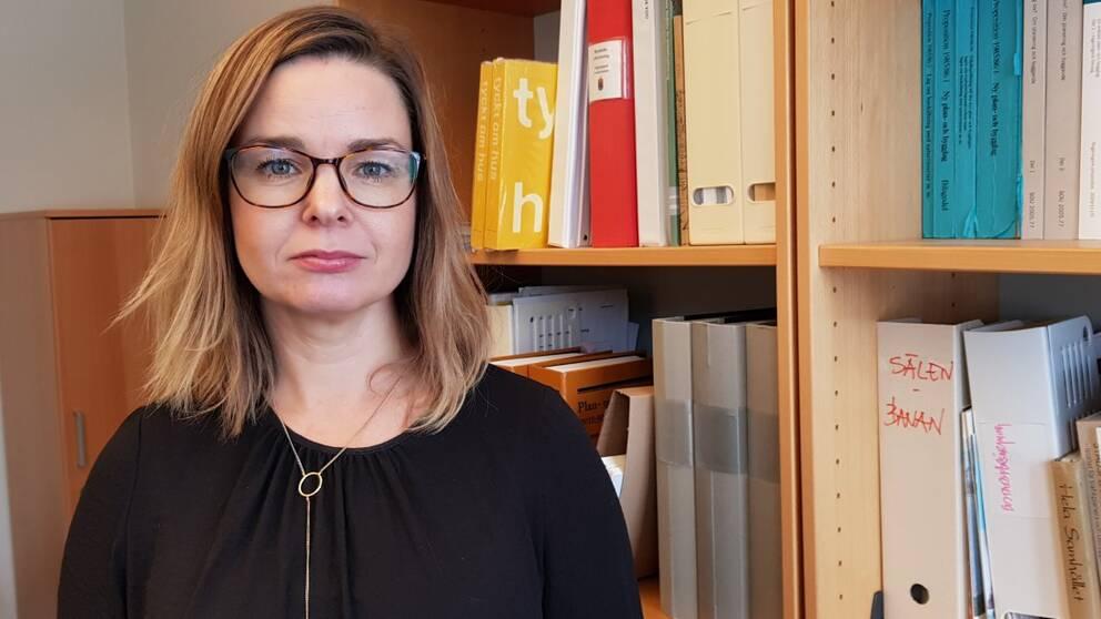 Frida Ryhag, länsarkitekt på Länsstyrelsen Dalarna.