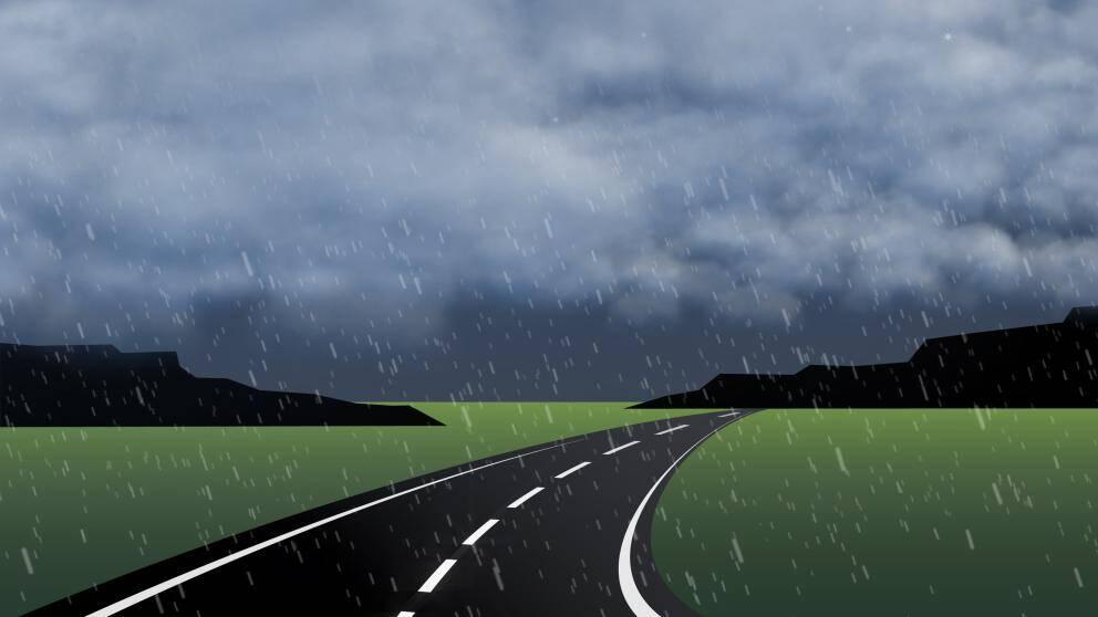 Ena dagen mulet med regn...