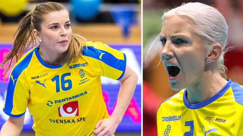 Moa Gustafsson och Anna Wijk.