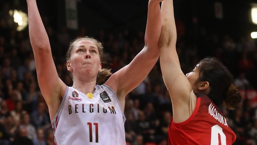 Emma Meesseman är Belgiens stora stjärna.