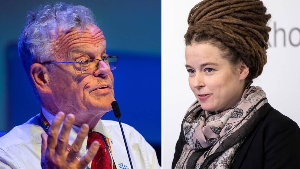 Björn Eriksson och Amanda Lind.