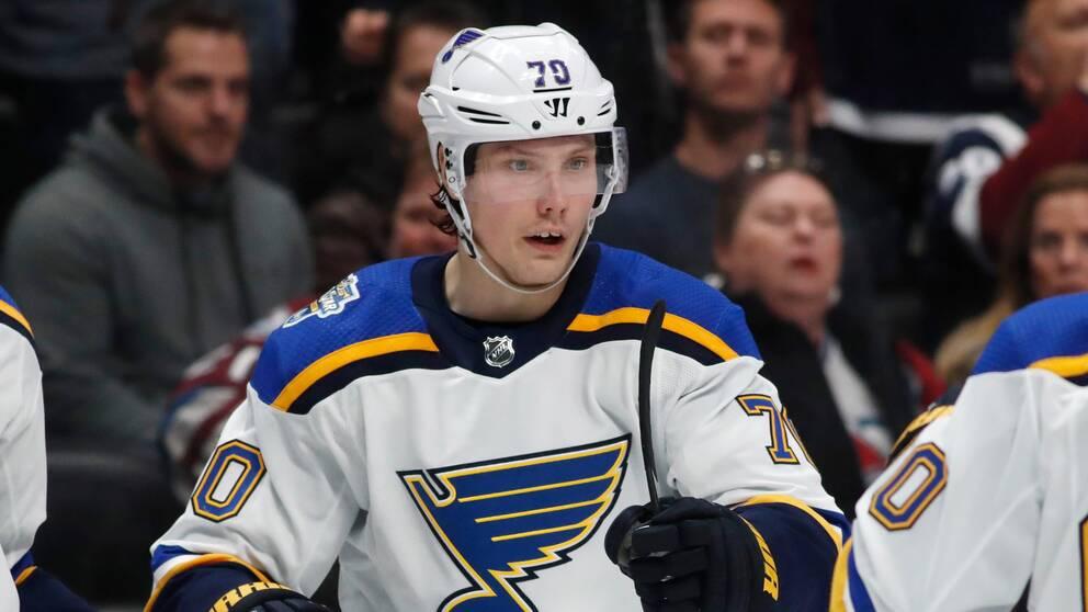 St. Louis Oskar Sundqvist.