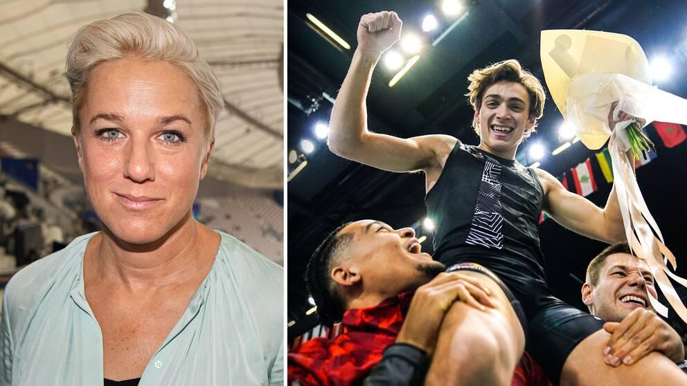 SVT:s expert Kajsa Bergqvist tror att Armand Duplantis kommer att ta herrarnas stavhopp till en ny dimension.