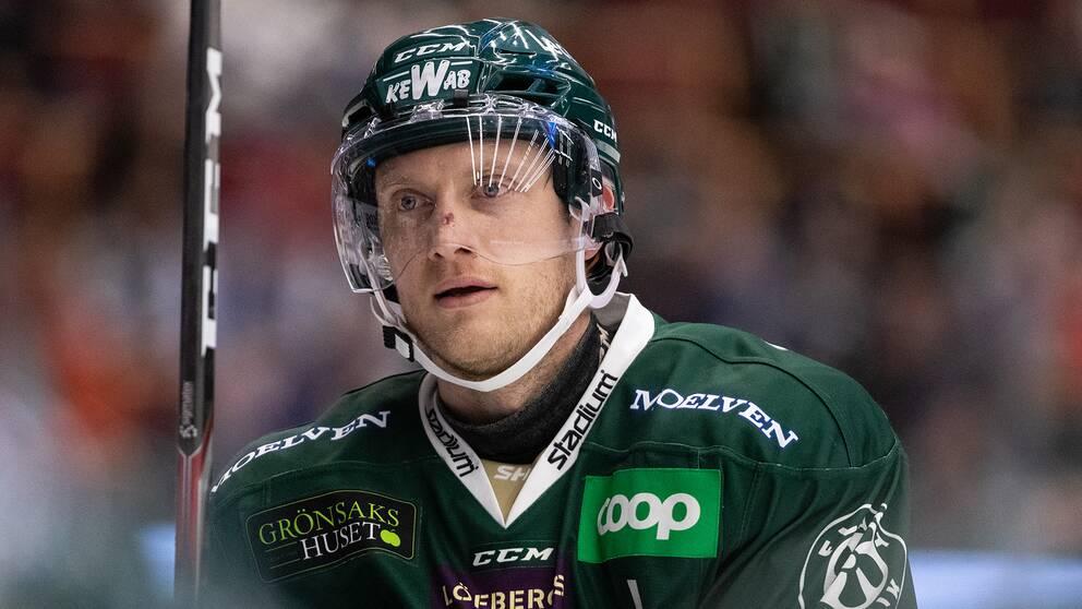 Johan Ryno lämnar Färjestad.