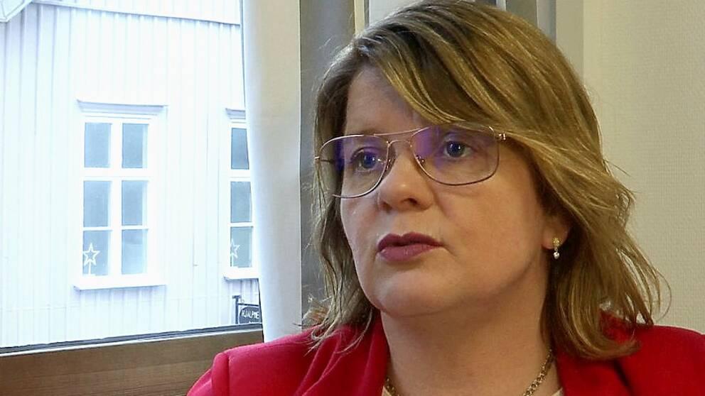 Kommunalrådet Åsa Haakman Felth (S) berättar att man kommer att undanta hela kommunen.