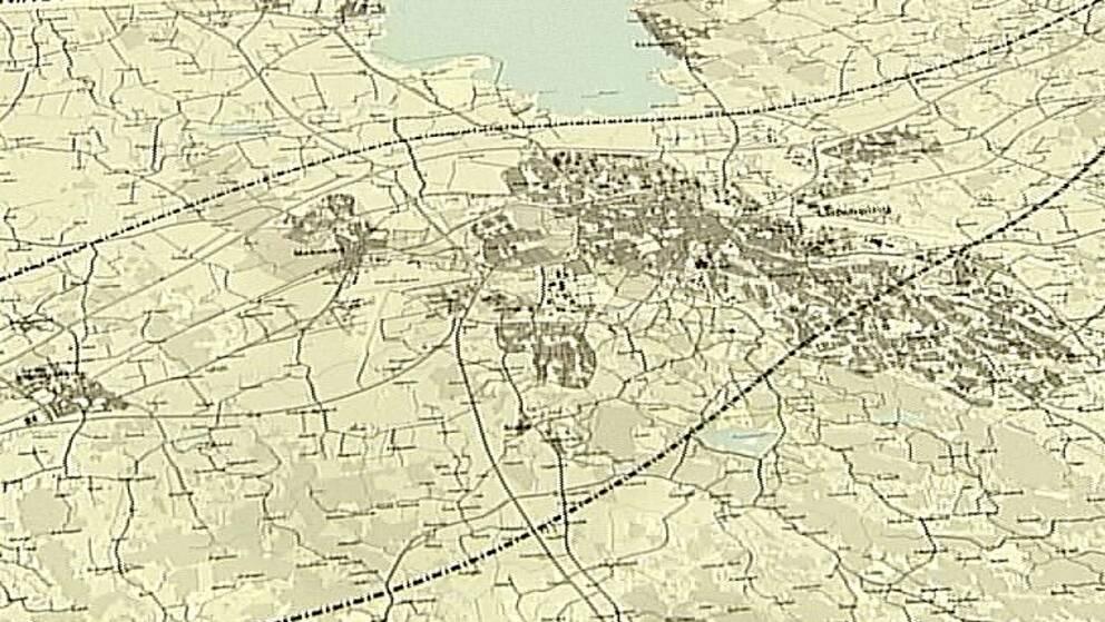 Samrådskarta över Linköping