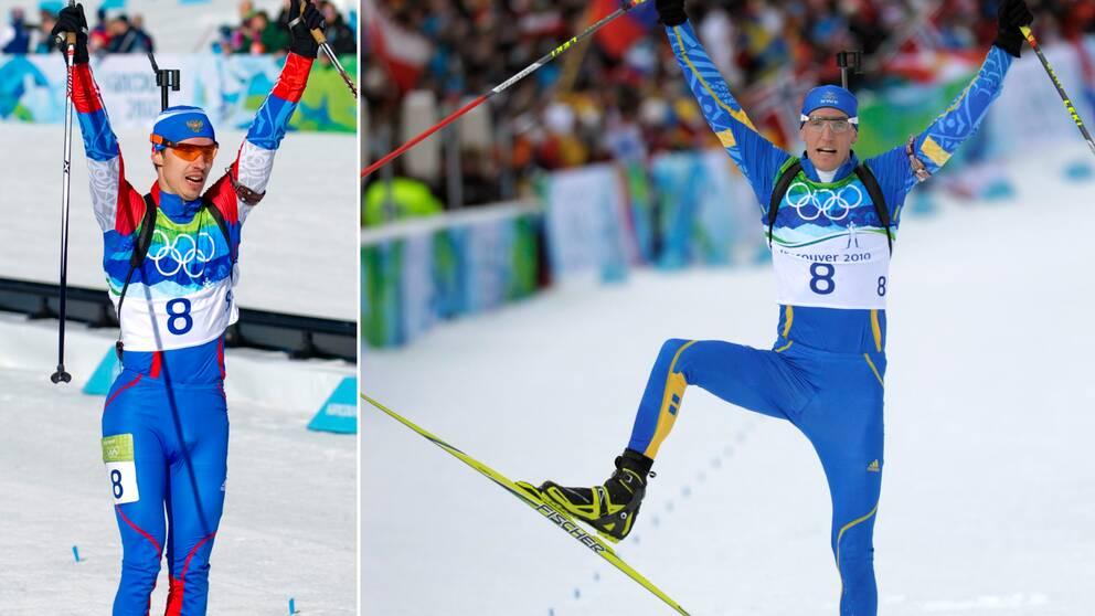 Jevgenij Ustjugov misstänks för dopning – då kan Björn Ferry och resten av det svenska landslaget få ett OS-brons.