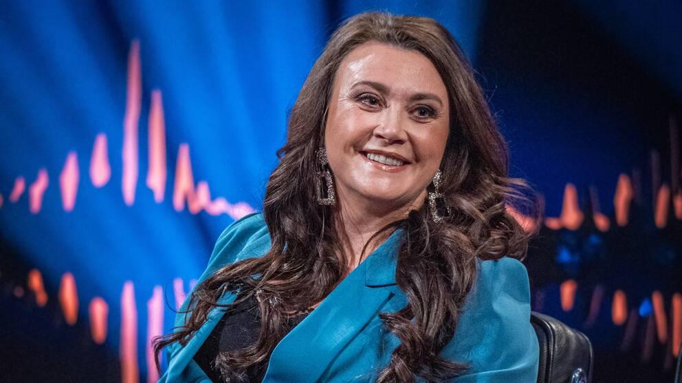 Camilla Läckberg i Skavlan.