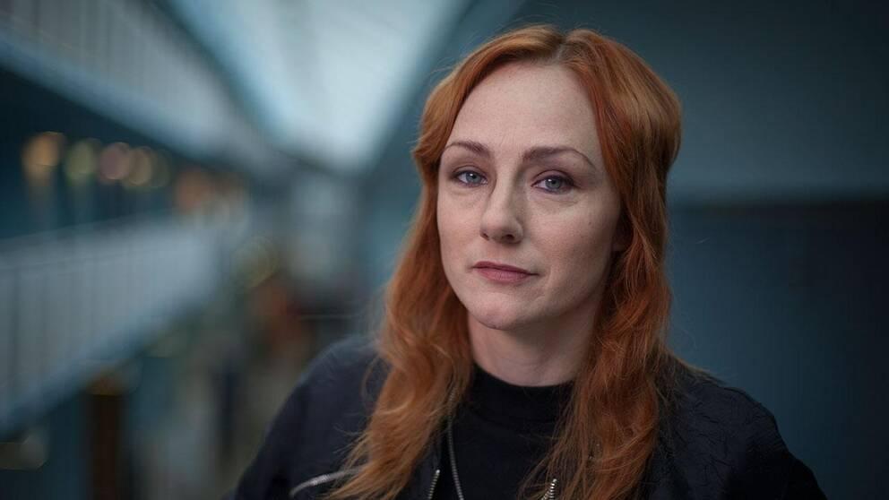 Ika Johannesson, programledare på Kulturnyheterna.